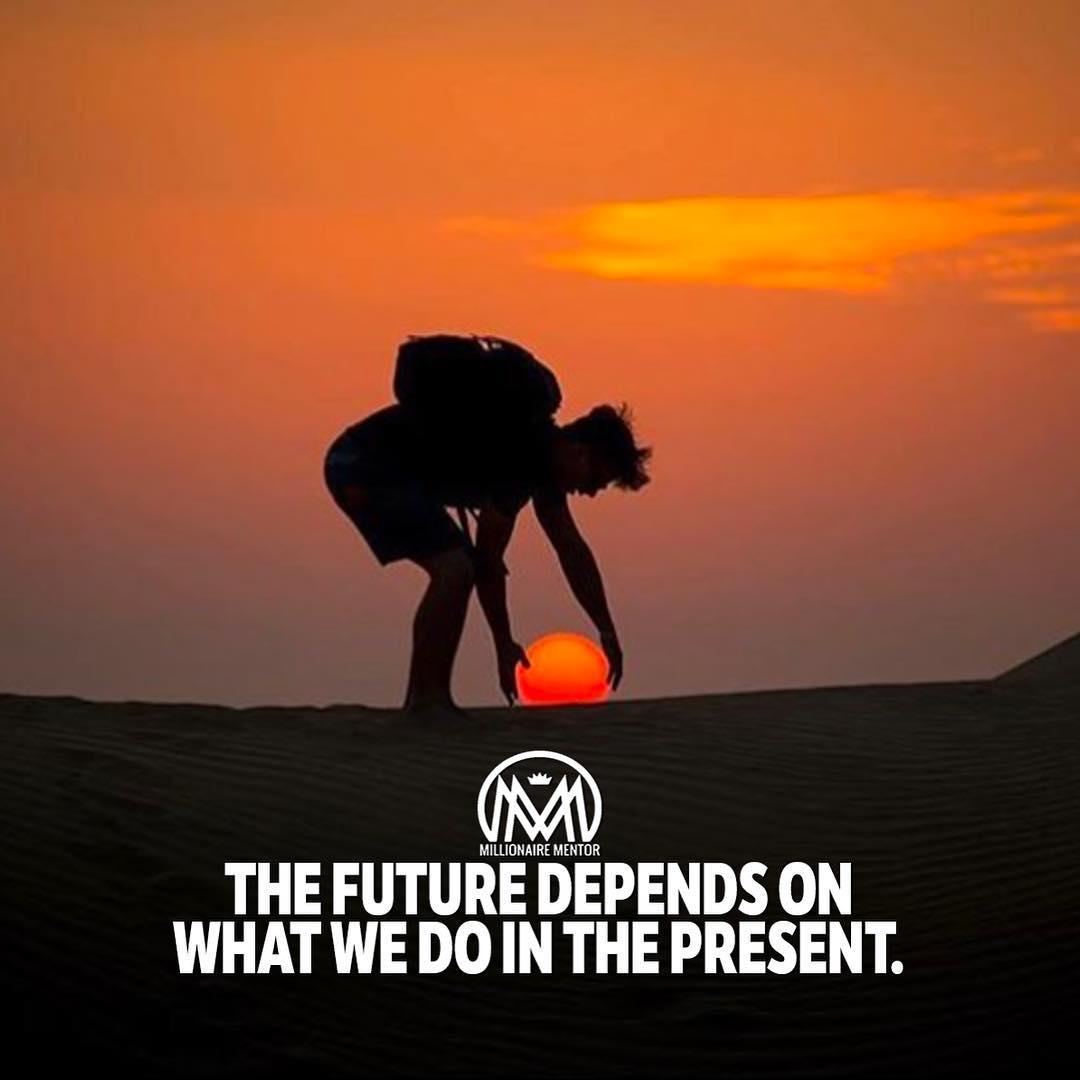 The future-present